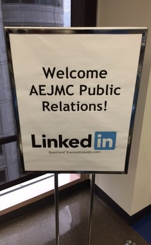 LinkedIn Welcomes PRD members to their San Francisco office