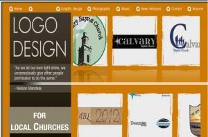 screenshot of logos