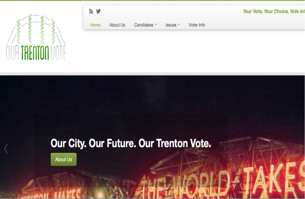 Our City. Our Future. Our Trenton Vote.
