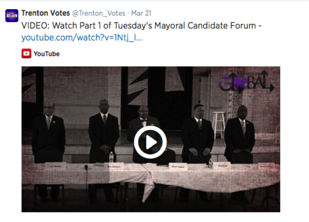 video: watch part 1 of Tuesday's Mayoral Candidate Forum